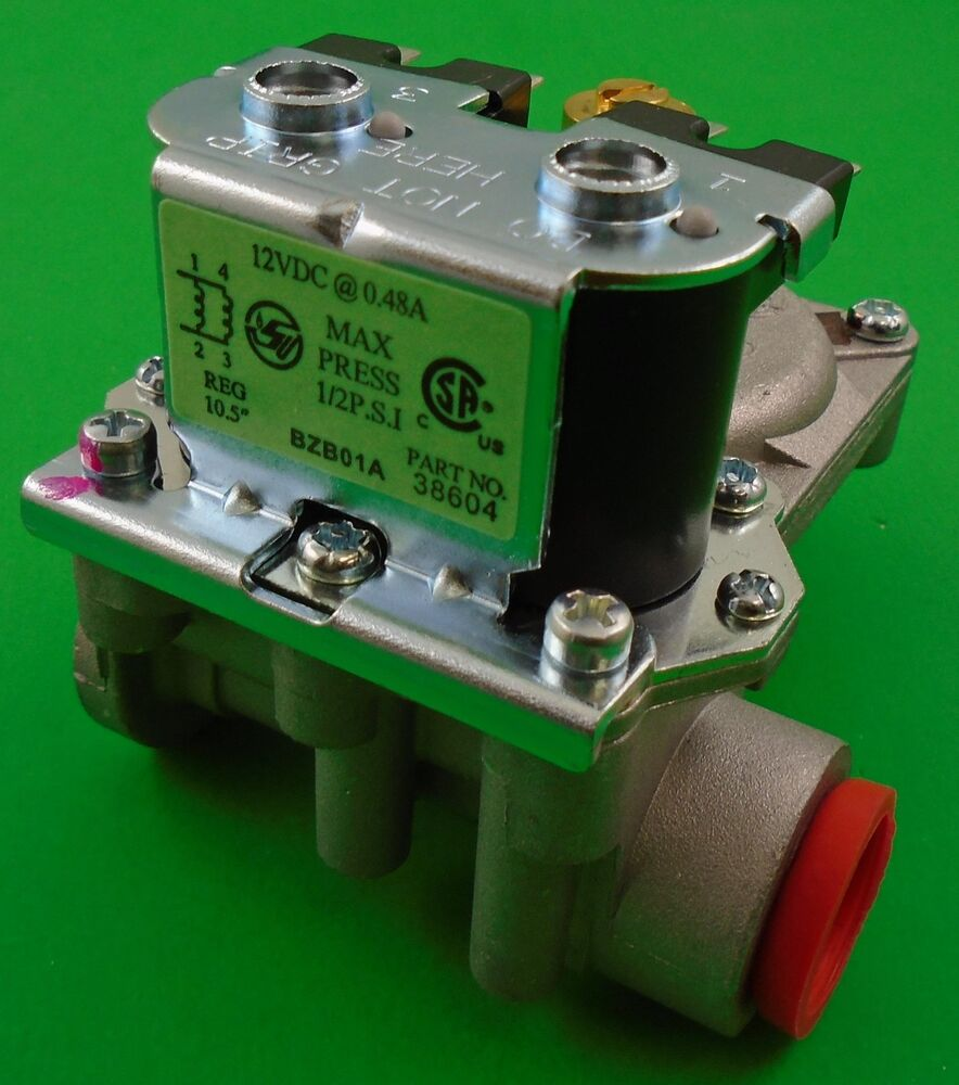 Atwood Hydro Flame 31150 Rv Heater Furnace Gas Valve 12vac