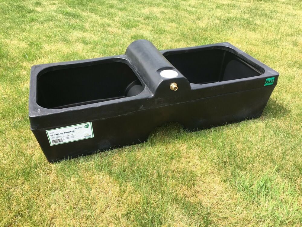 Cattle Drinker Agricultural Water Trough 30 Gallon Sheep