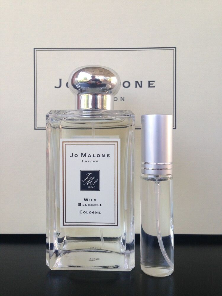 jo malone wild bluebell cologne 10ml spray ebay. Black Bedroom Furniture Sets. Home Design Ideas