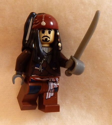 Toy Pirate Lego : New lego voodoo jack sparrow minifig pirates of the