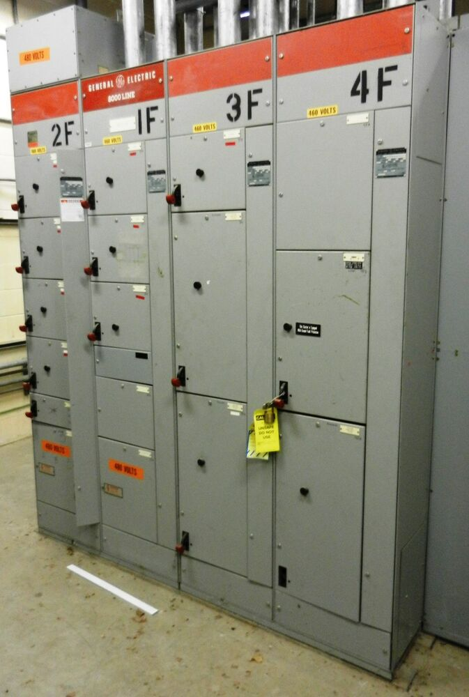 ge electric motor control center 8000 line wvs ebay