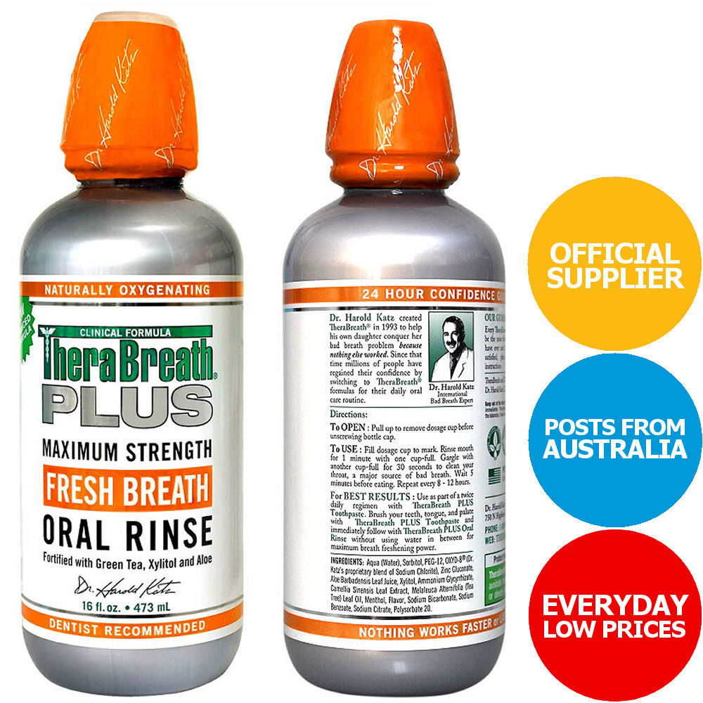 Therabreath Plus Oral Rinse 95