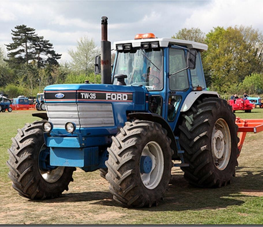 Ford Tw 35 Tractor Parts : Ford tractors tw shop service manual