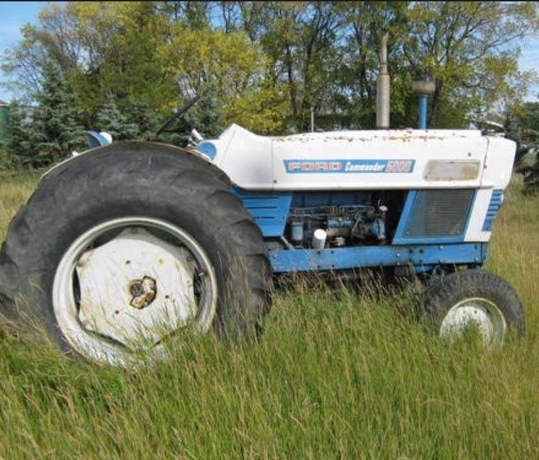 Ford 6000 Diesel Tractor : Ford tractors series commander diesel non shop