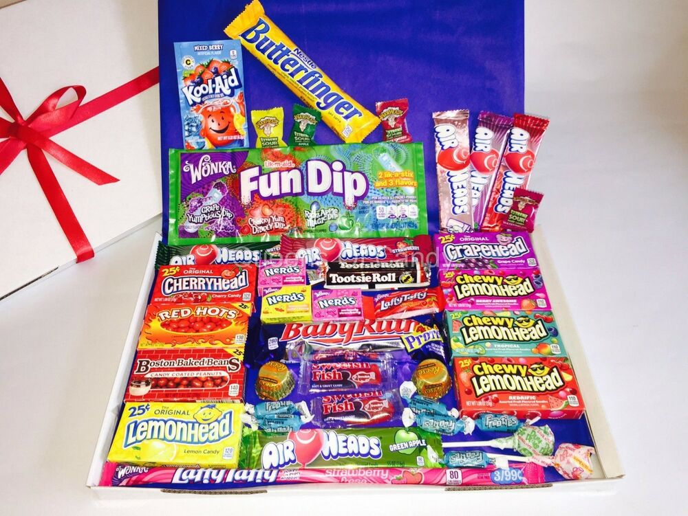 Chocolate Gift Boxes Usa : American sweets hamper usa chocolate candy gift box
