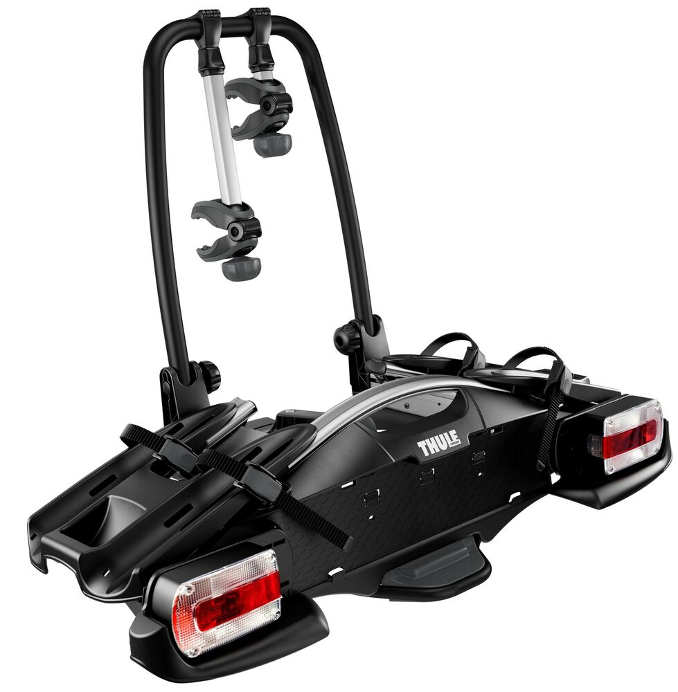 thule 925 velocompact 2 bike cycle carrier towbar towball. Black Bedroom Furniture Sets. Home Design Ideas