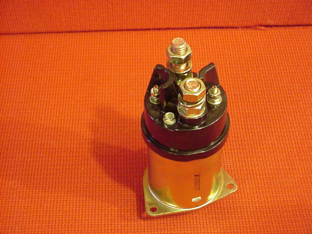 Starter solenoid fits delco remy 42mt 12 volt insulated for Delco remy 42mt starter motor