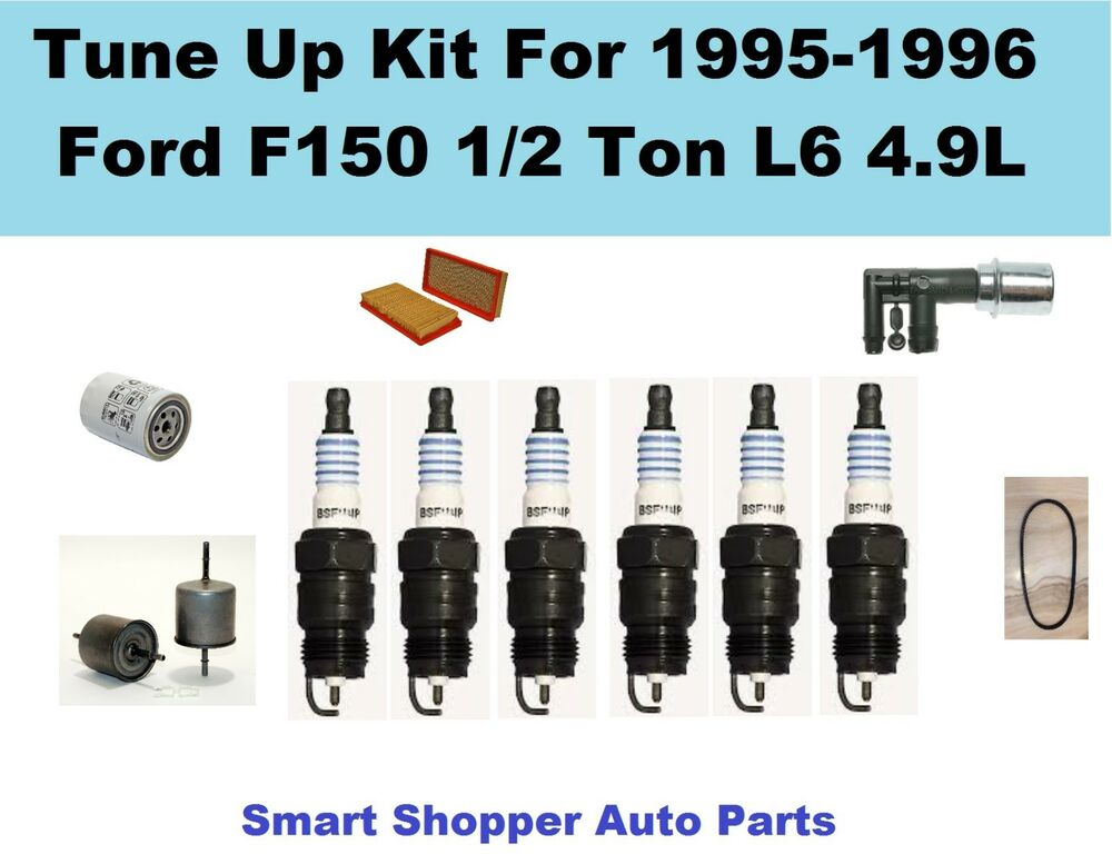 Tune Up Parts List : Tune up for ford f ton l serpentine belt