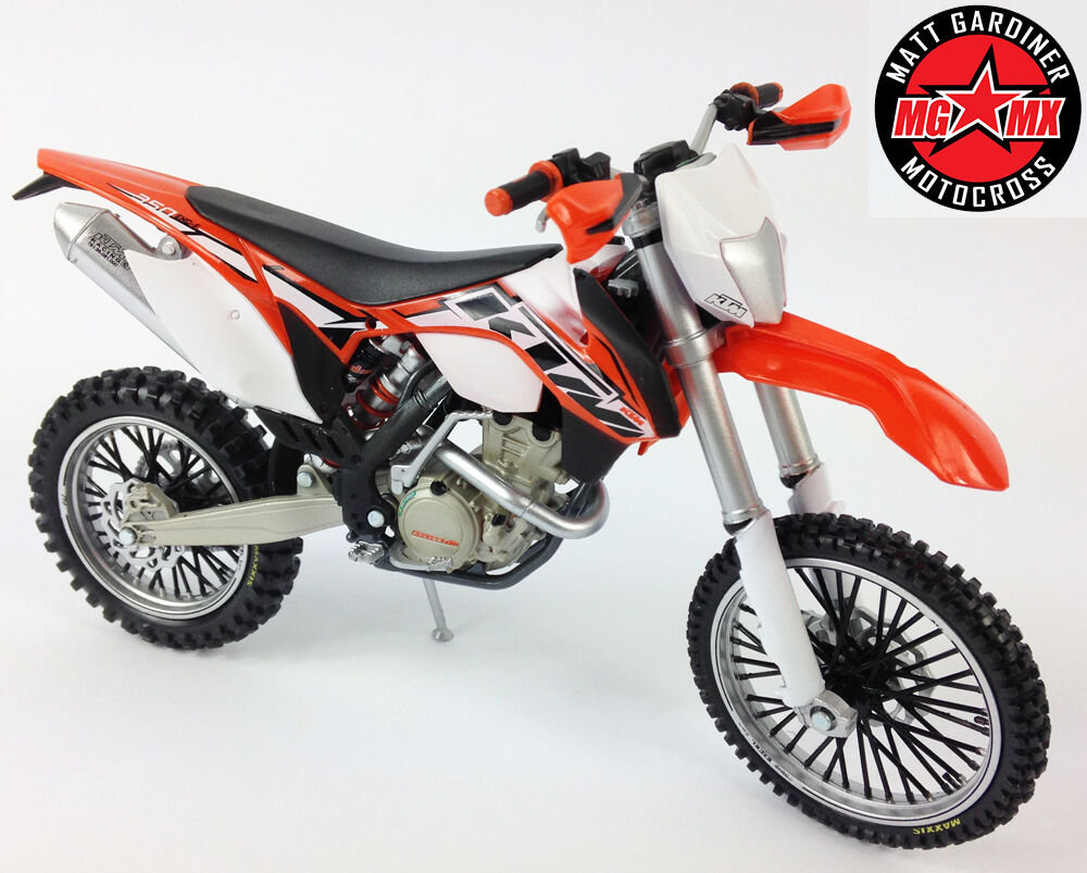 2014 ktm exc f 350 1 12 die cast motocross enduro mx toy. Black Bedroom Furniture Sets. Home Design Ideas