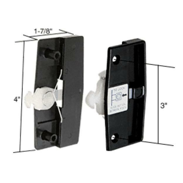 Crl Sliding Screen Door Latch And Pull With 3 Quot Screw Holes