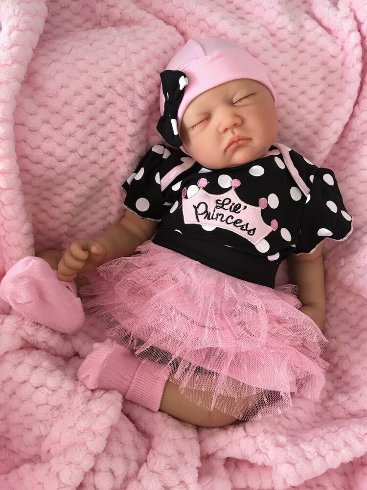 Reborn Dolls Cheap Baby Girl Realistic 22 Quot Newborn Real