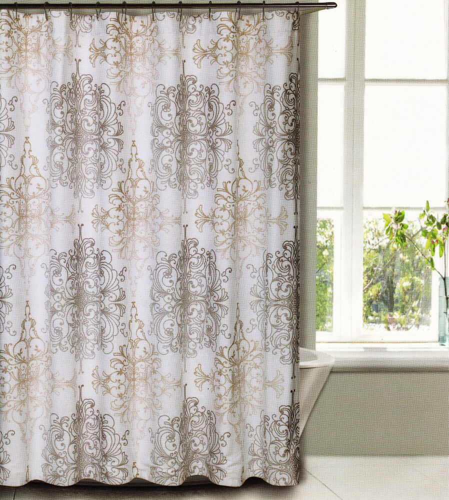 Cottage Curtains Window Treatments Natural Fabric Shower Curtains