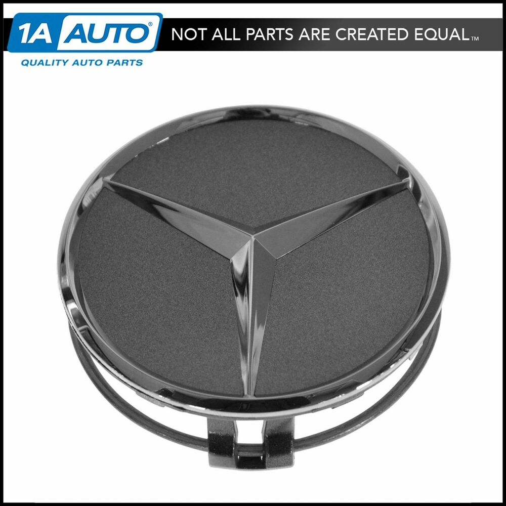 Oem 22040001257756 wheel cap gray chrome center for for Mercedes benz wheel