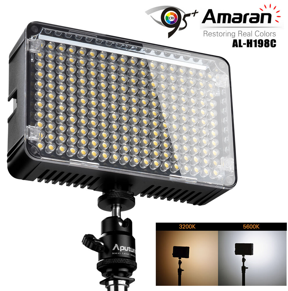 aputure amaran al h198c cri95 amaran 198 led light 87876
