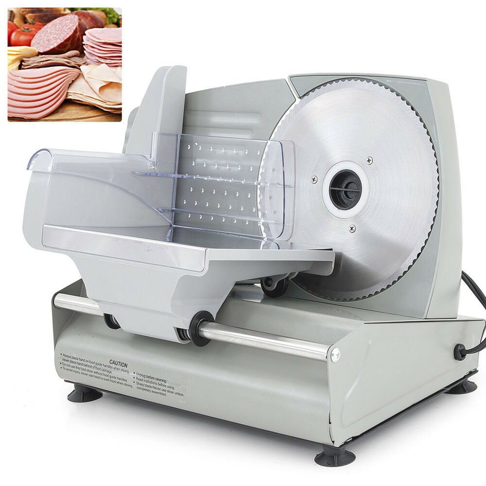 Food Slicers For Home Use ~ Electric meat slicer quot blade home deli food