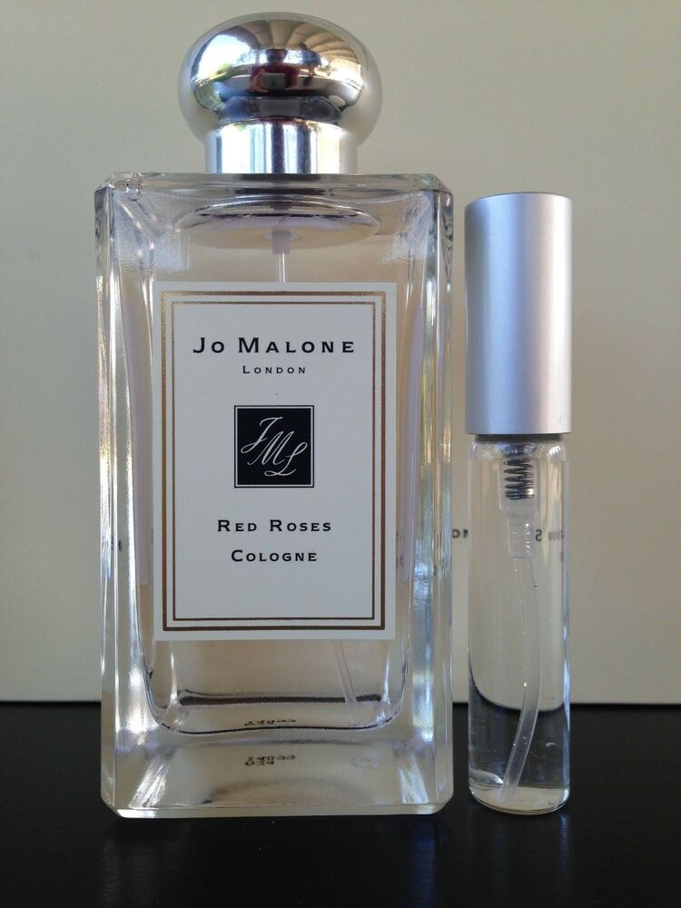jo malone red roses cologne 7ml spray ebay. Black Bedroom Furniture Sets. Home Design Ideas