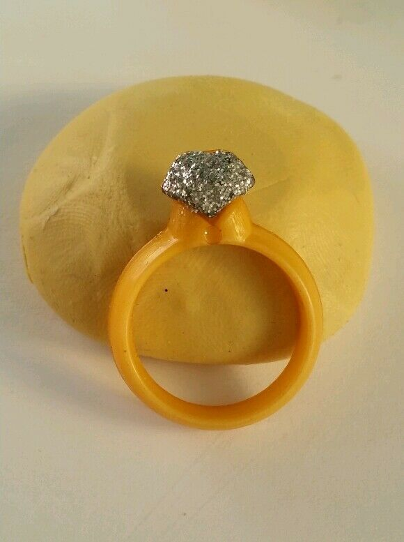 Engagement Ring Cake Mold