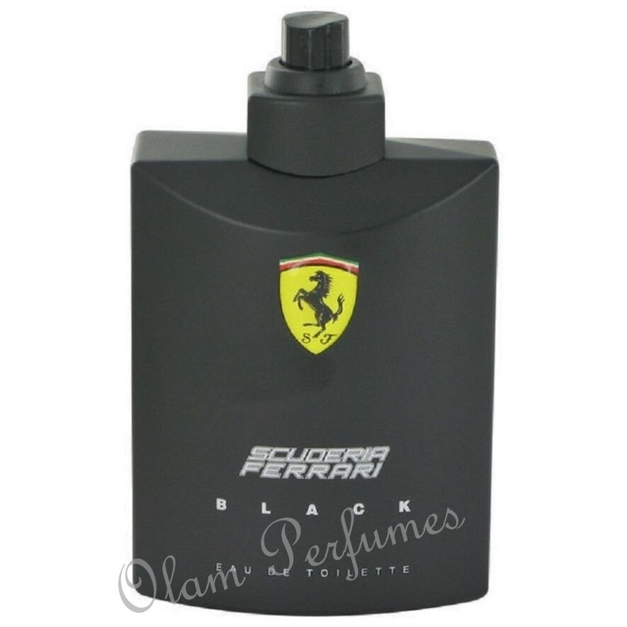 scuderia black eau de toilette spray 4 2oz 125ml tester new in box ebay