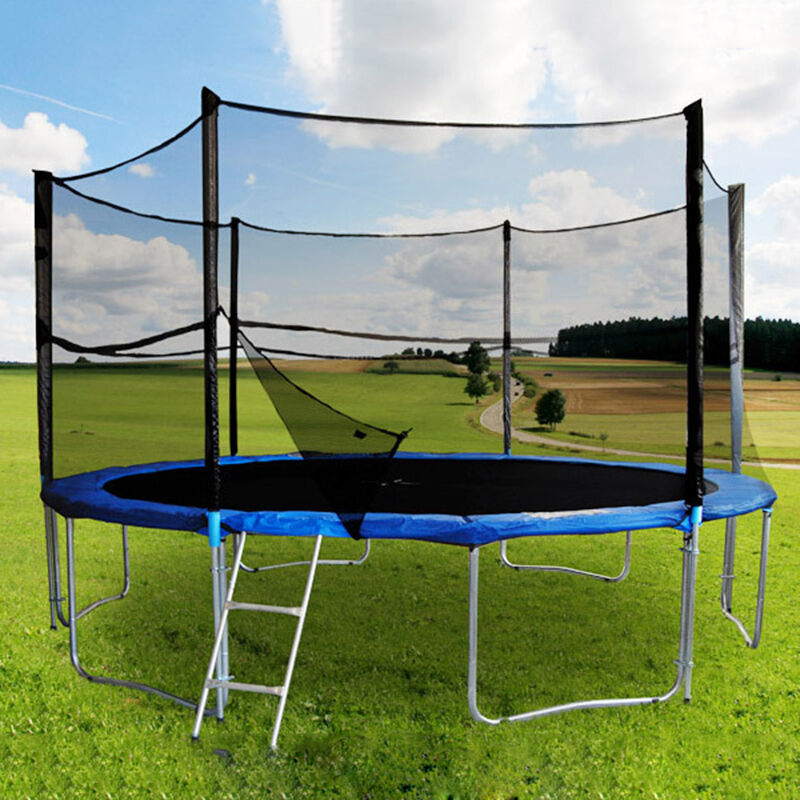305cm 430cm trampolin sicherheitsnetz ersatznetz. Black Bedroom Furniture Sets. Home Design Ideas