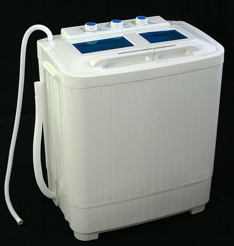 Portable mini small rv dorms compact 8 9lb washing for Portable washer and dryer