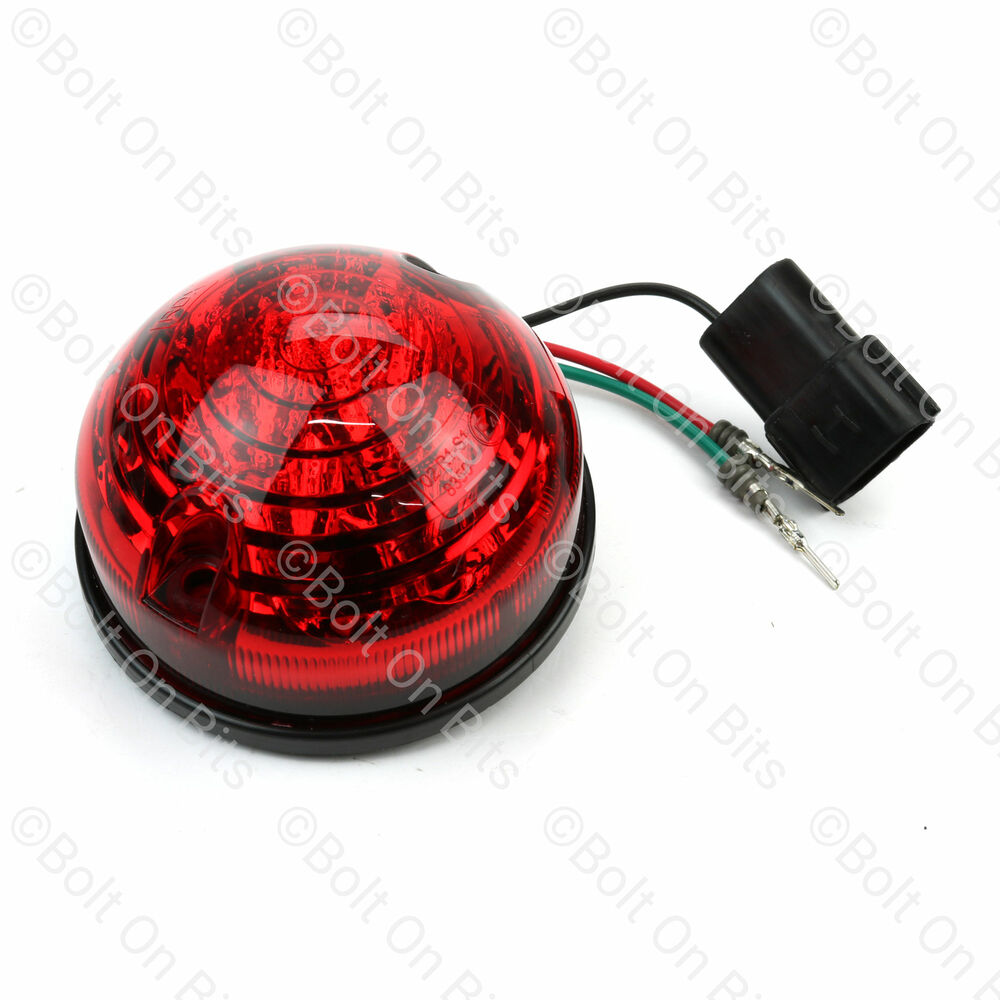 Pair Of Clear Front Indicator Lights For Land Rover: RDX LED Rear Stop/Tail Light/lamp LandRover Defender 90