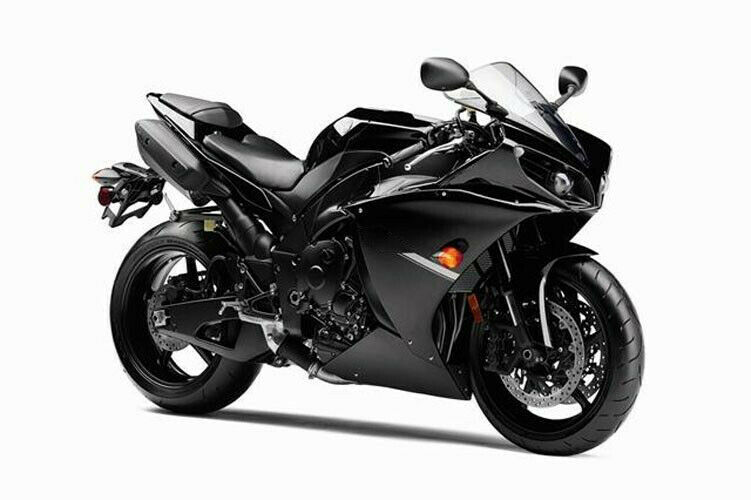 Gloss black complete fairing cowl kit injection for 2012 for Yamaha r1 deals
