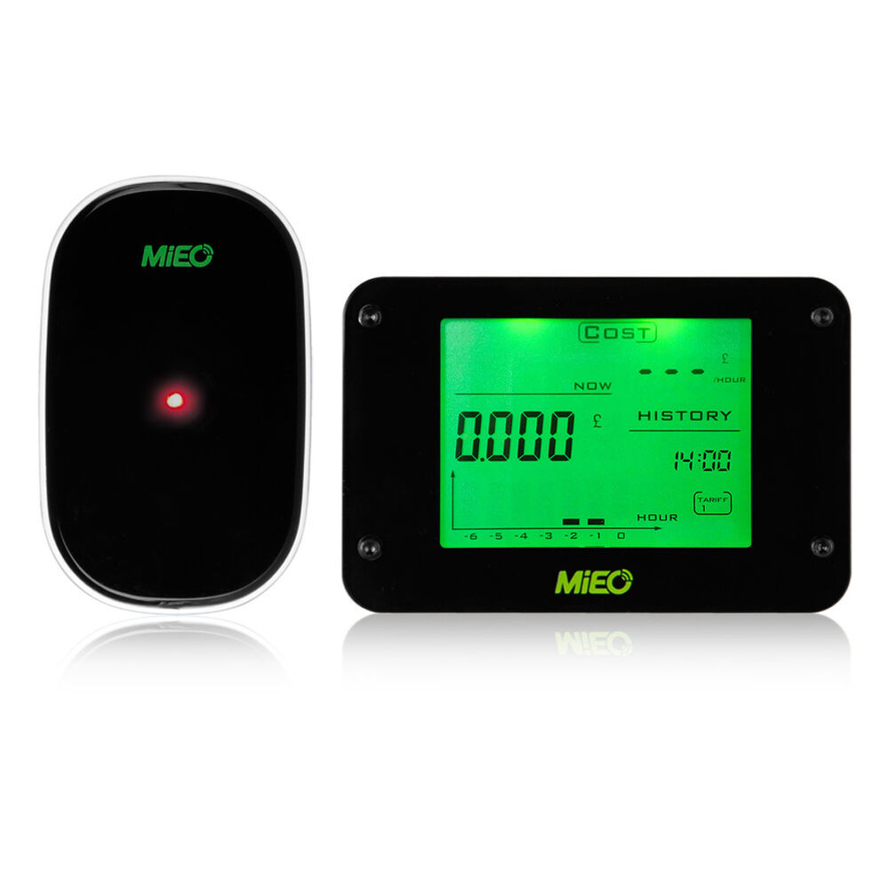 Energy Use Monitor : Smart wireless electricity meter current power consumption