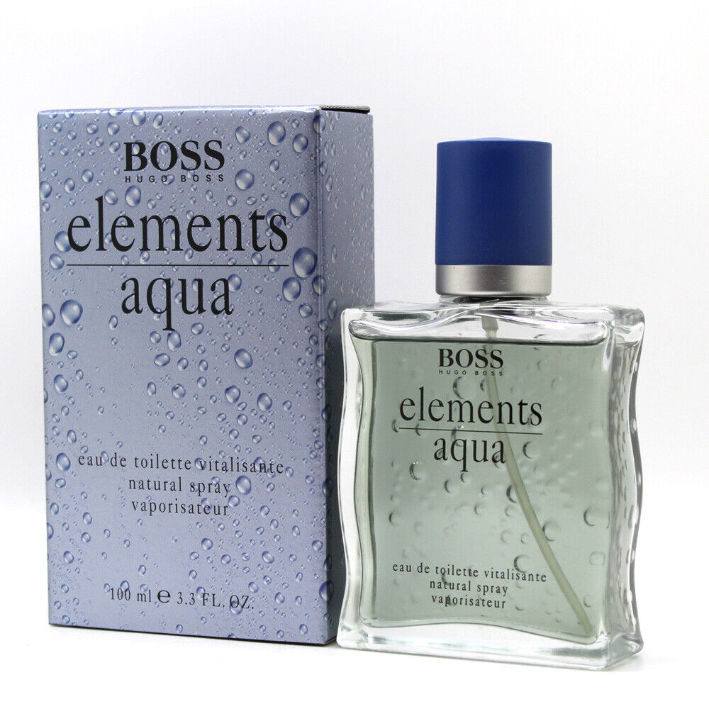 boss elements aqua by hugo boss 3 4 100 ml eau de toilette spray for men ebay. Black Bedroom Furniture Sets. Home Design Ideas