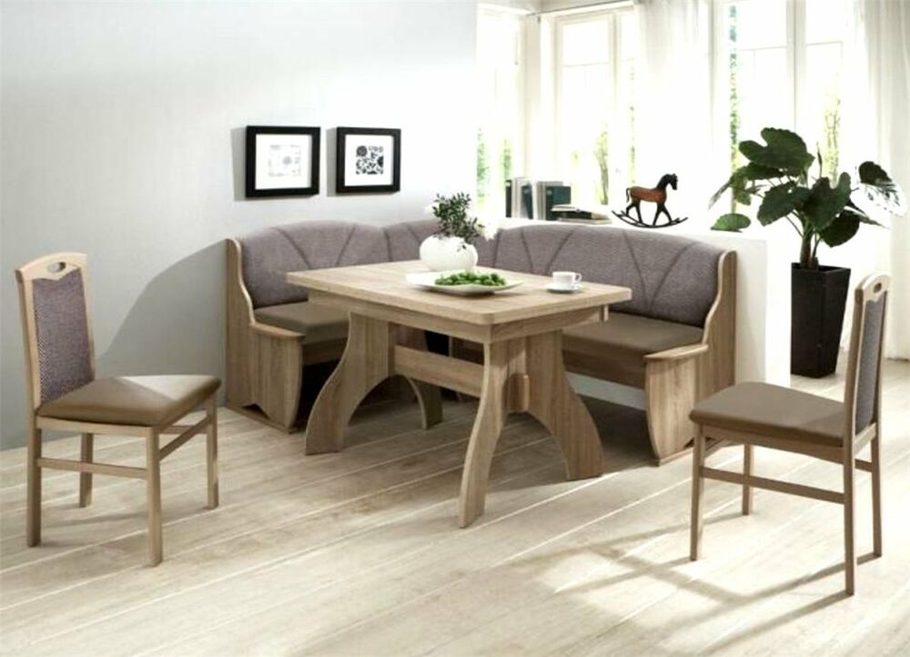 eckbankgruppe 4tlg tischgruppe essecke eckbank tisch stuhl sonoma eiche monza ii ebay. Black Bedroom Furniture Sets. Home Design Ideas