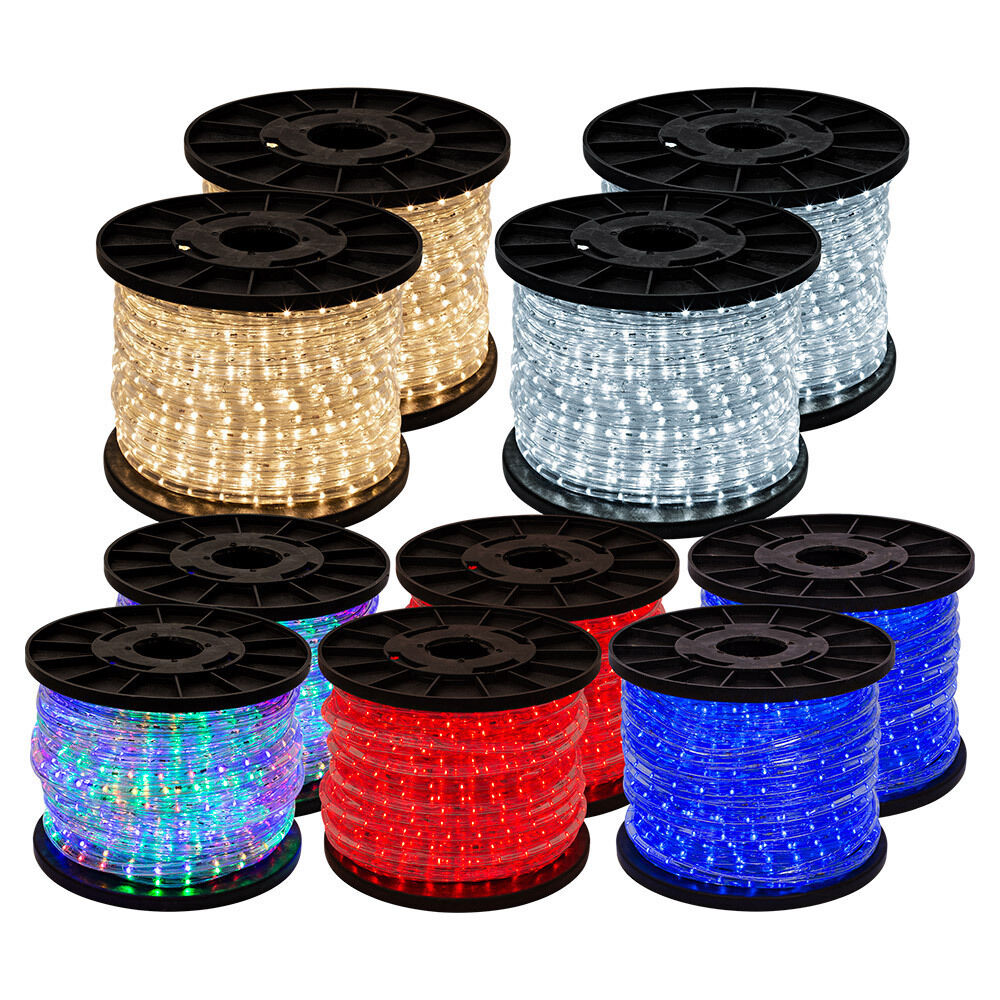 Led White Wire Christmas Lights