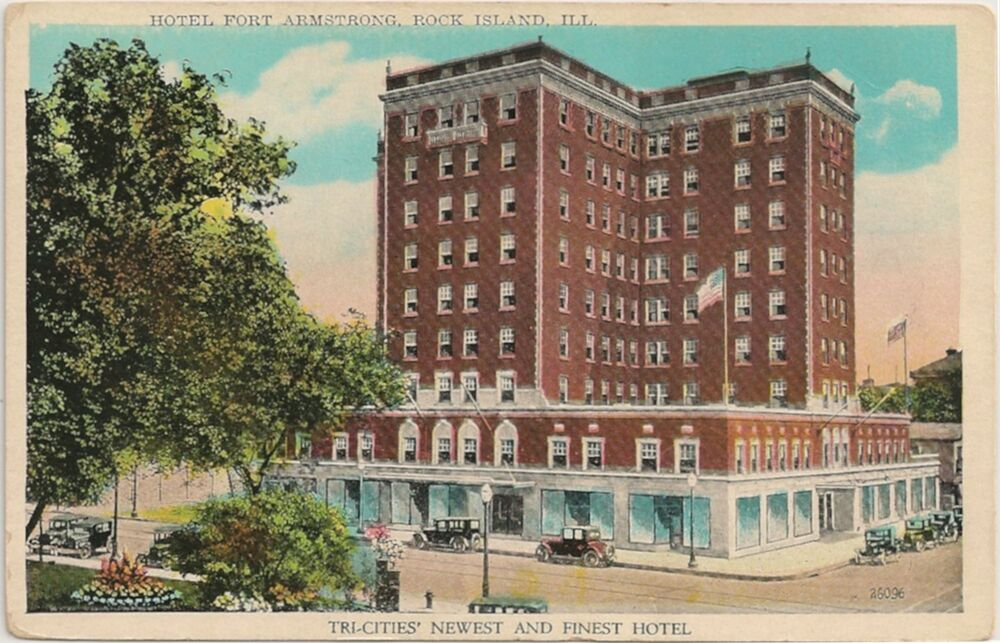 Hotel Fort Armstrong In Rock Island Il Postcard Ebay Hotel Near Me Best Hotel Near Me [hotel-italia.us]