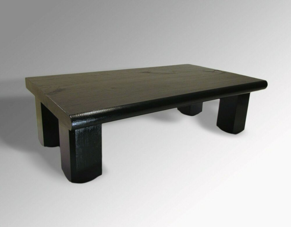 L k monitor stand pine glossy black a tv