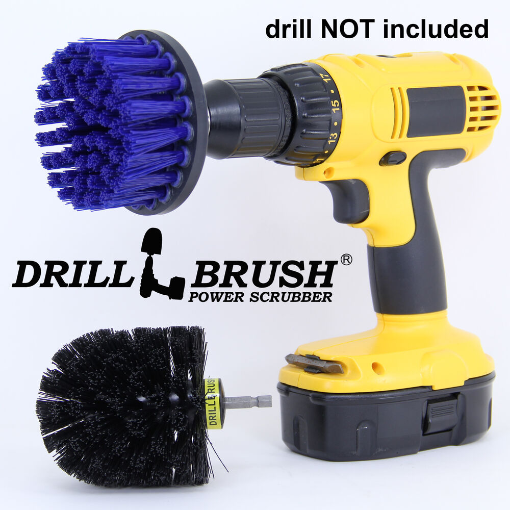 Bathroom And Kitchen Sink And Tile Power Scrubber Brush