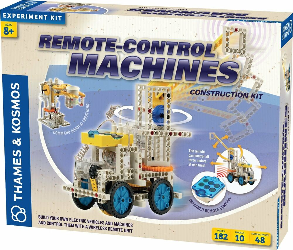 Thames And Kosmos 555004 Remote Control Machines