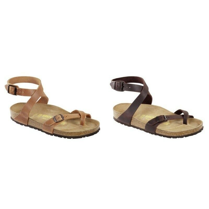 38ecccc40a52 Details about Birkenstock Yara Sandals natural leather