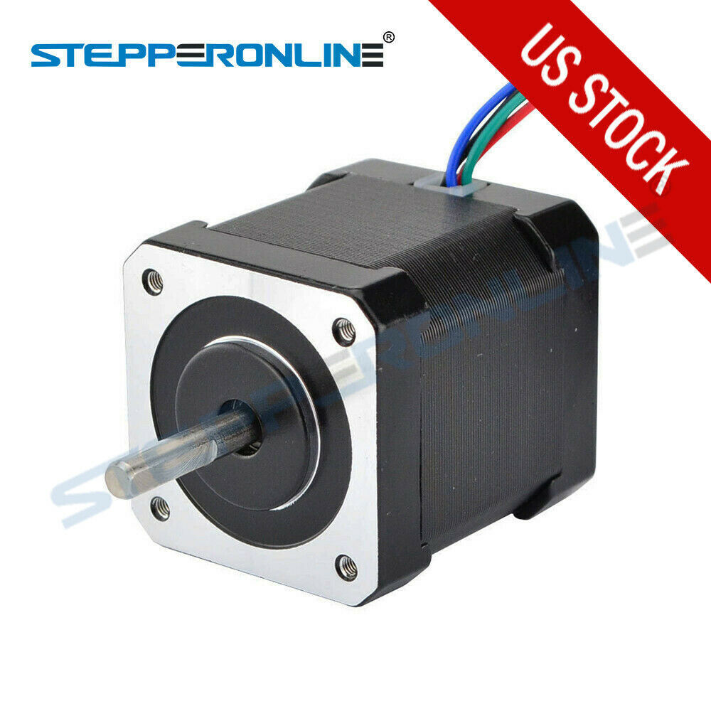 Us ship nema 17 stepper motor bipolar cnc for Ebay motors shipping company