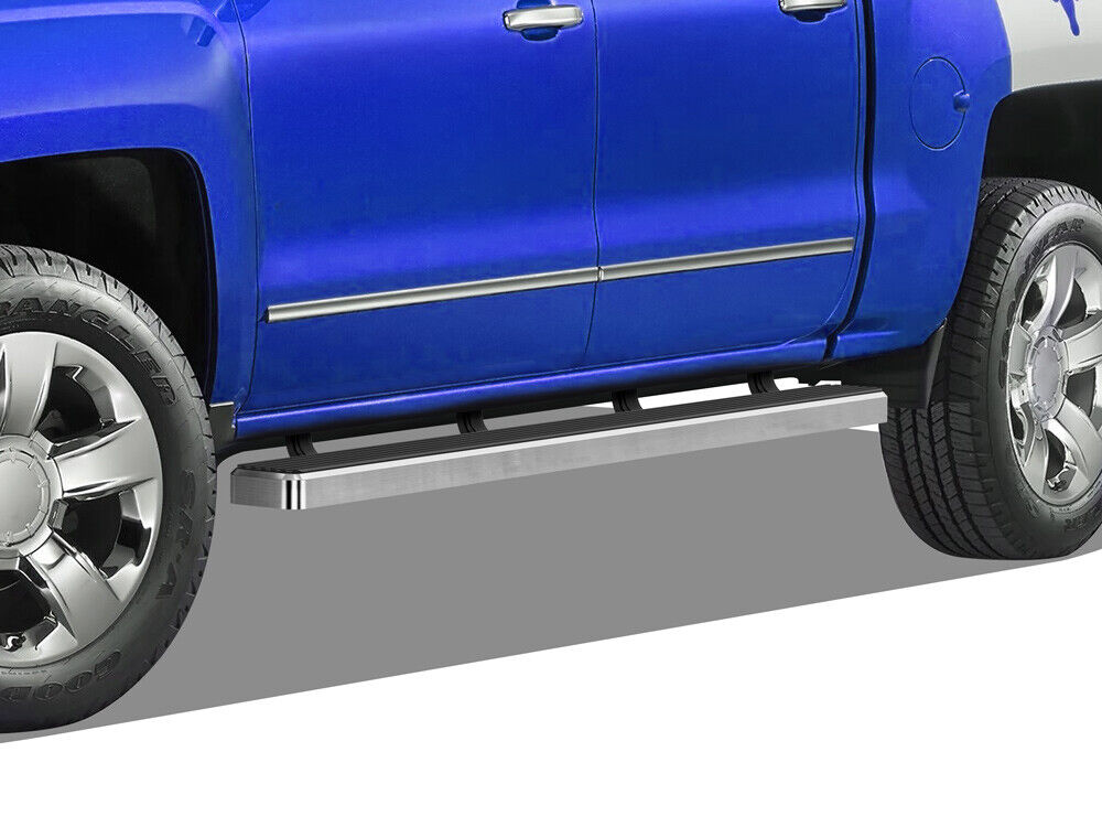Iboard Running Boards 4 Quot Fit 07 17 Chevy Silverado Gmc