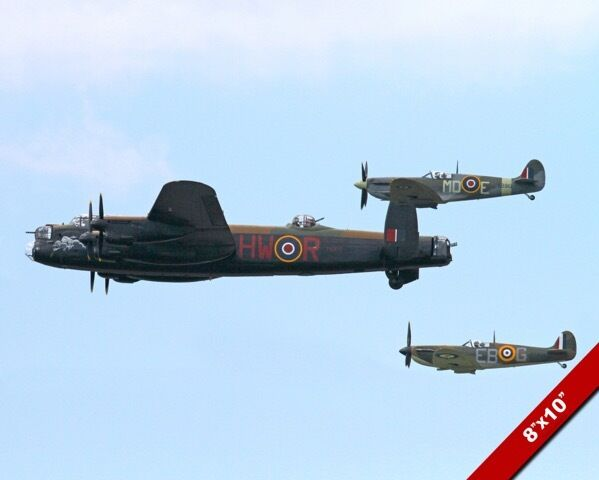 BRITISH WORLD WAR II WWII BOMBER & SPITFIRE PLANES IN ...