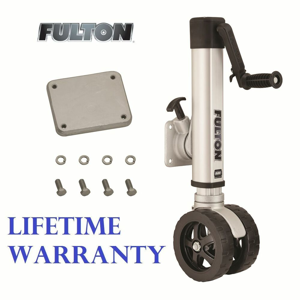 Fulton F2 Trailer Jack 1600 Lbs Twin Track Weld On 3 Quot X4