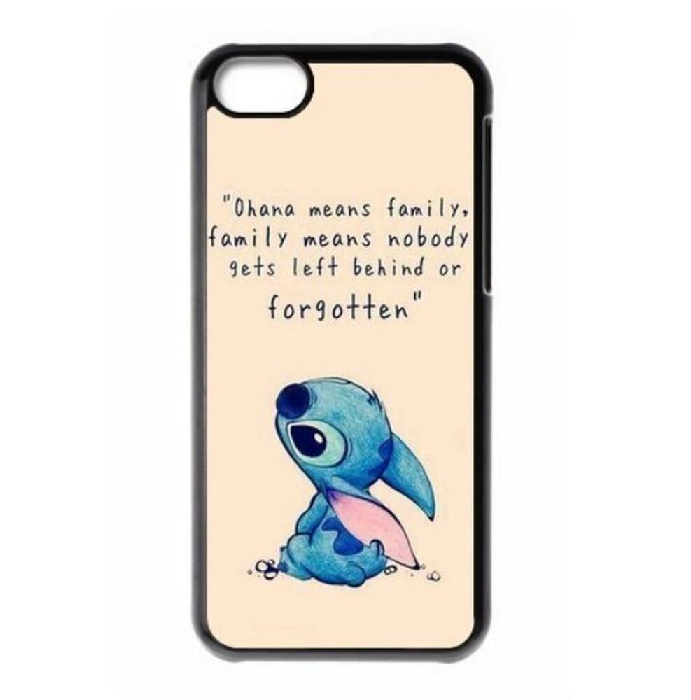 Disney OHANA Lilo &amp... Apple Iphone 5s Cute Case