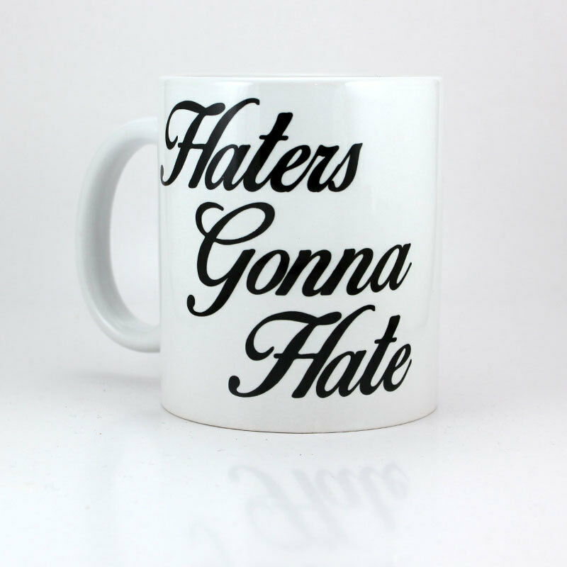 Funny Meme Coffee Mugs : Haters gonna hate oz ceramic coffee cup mug taylor