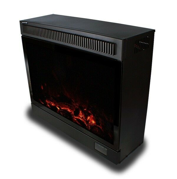 New Insert Style 1500w 750w Electric Fireplace Space Heater W Remote Ebay