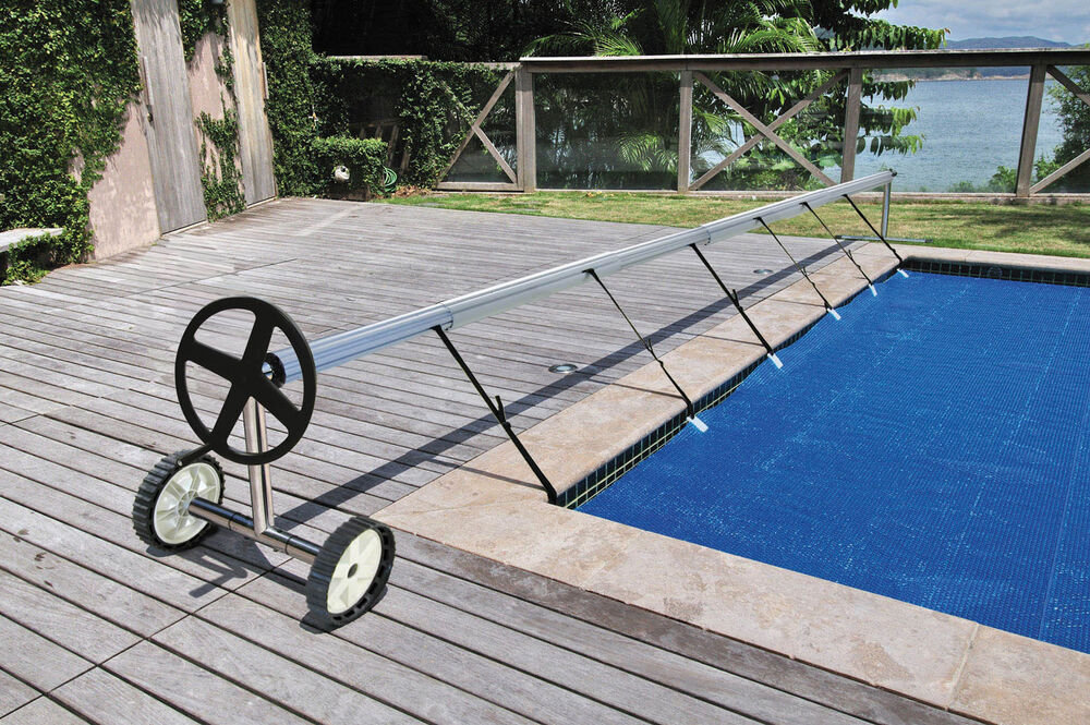 Kokido Stainless Steel In Ground Swimming Pool Cover Reel Set Up To 18 7 39 Ebay