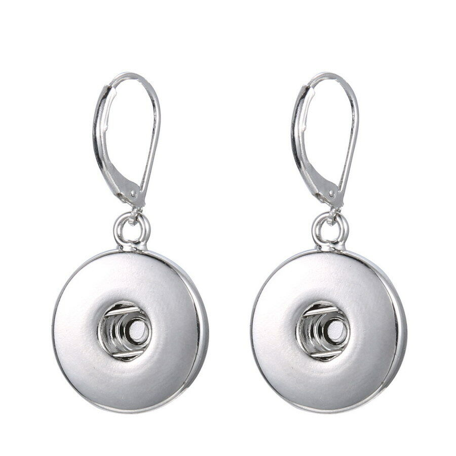fashion nobile Charm Snap Buttons Earrings Pendant Fit ...