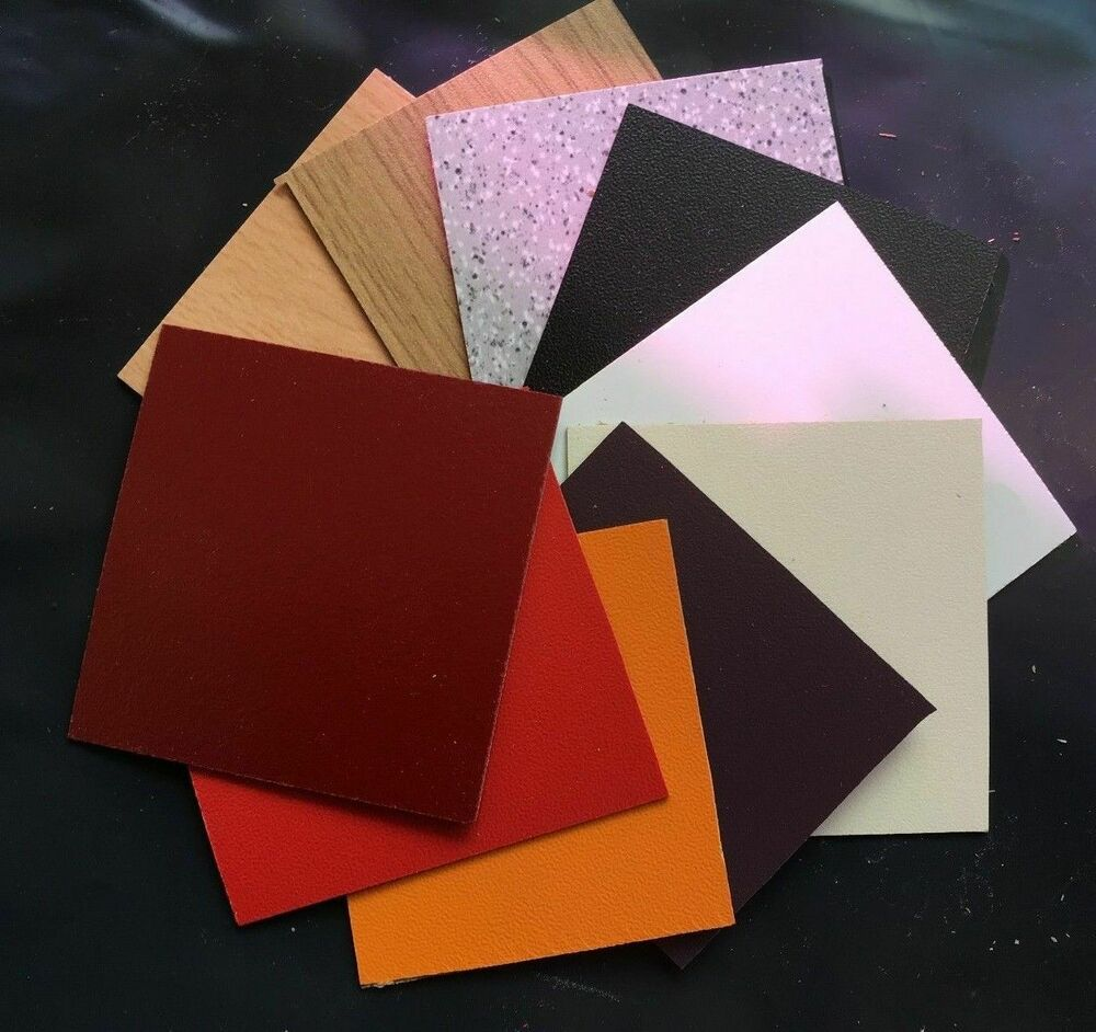 Sample Formica Type Laminate Sheets Various Colours