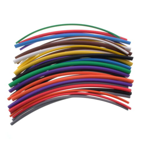 Heat Shrink 0.6mm - 25.4mm 2:1 & 3:1 Various Colours Tubing Tube Sleeving