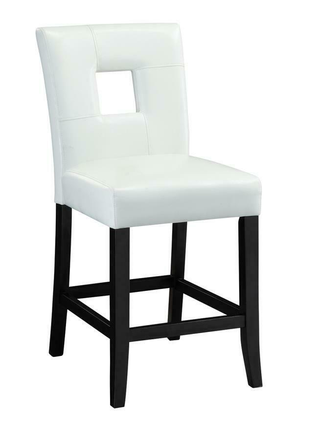 Newbridge White Vinyl Counter Height Stool Chair by  : s l1000 from www.ebay.com size 965 x 1000 jpeg 107kB