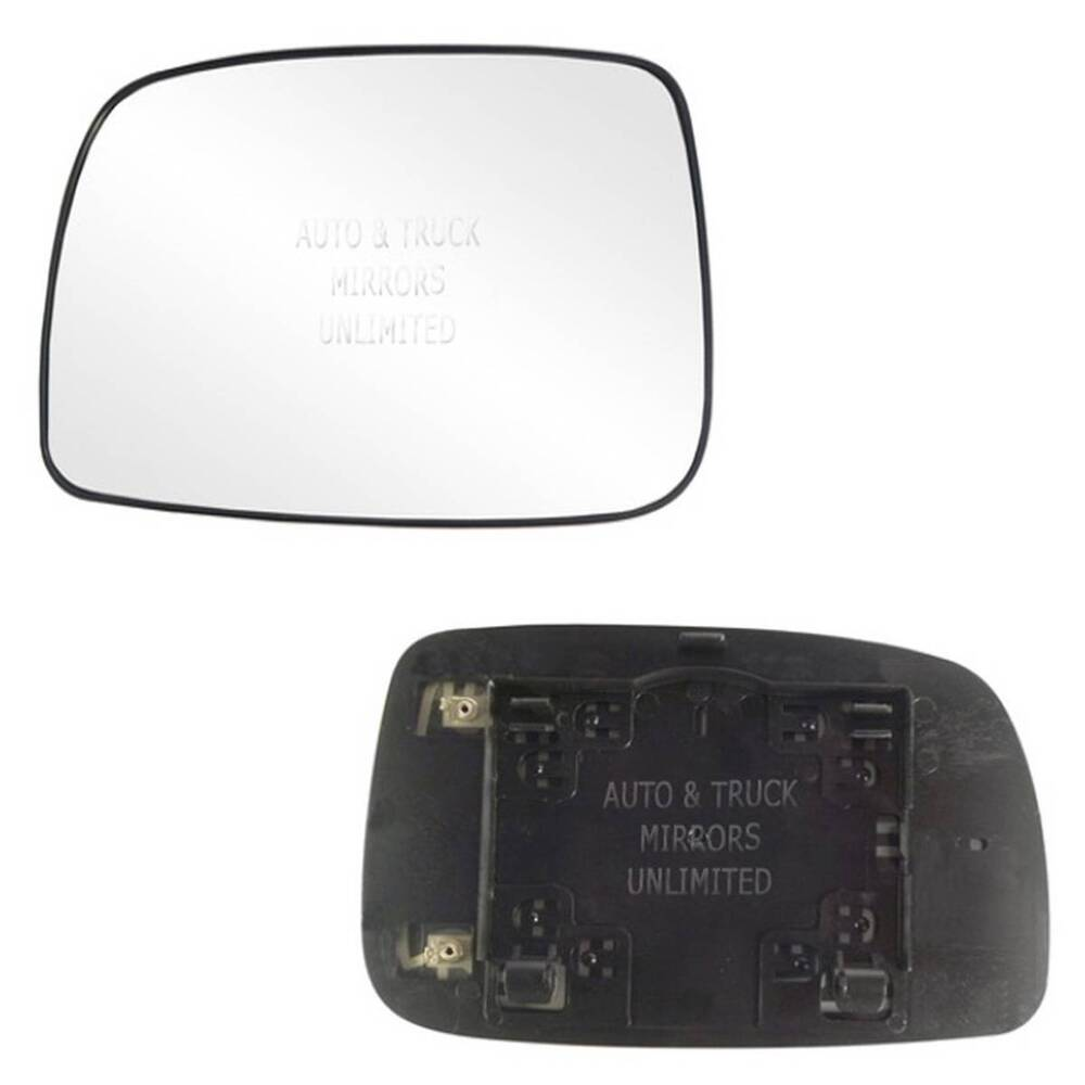 new mirror glass with backing heated 07 11 toyota camry. Black Bedroom Furniture Sets. Home Design Ideas