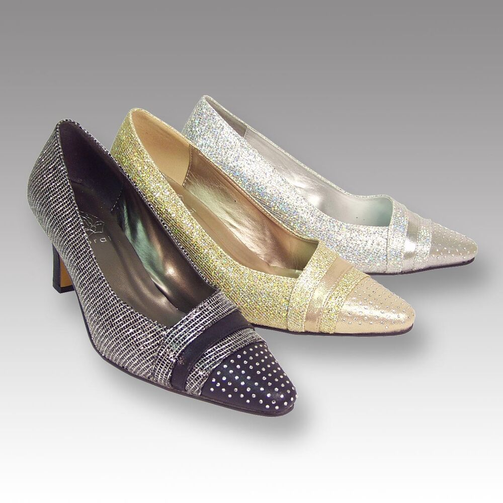 Womens Wide Width Evening Shoes