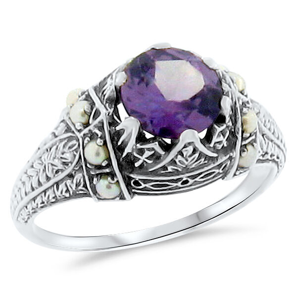 Vintage Alexandrite Rings COLOR CHANGING ...